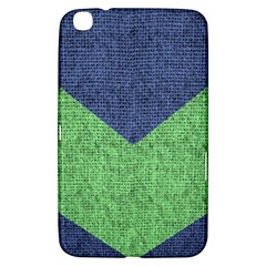 Arrow Texture Background Pattern Samsung Galaxy Tab 3 (8 ) T3100 Hardshell Case  by Onesevenart