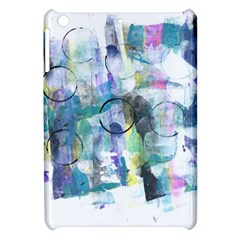 Background Color Circle Pattern Apple Ipad Mini Hardshell Case by Onesevenart