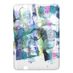 Background Color Circle Pattern Kindle Fire Hd 8 9  by Onesevenart