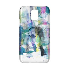 Background Color Circle Pattern Samsung Galaxy S5 Hardshell Case  by Onesevenart