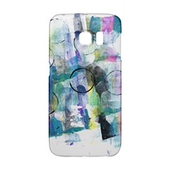 Background Color Circle Pattern Galaxy S6 Edge by Onesevenart
