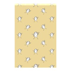 Happy Character Kids Motif Pattern Shower Curtain 48  X 72  (small)  by dflcprints