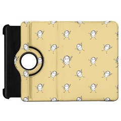 Happy Character Kids Motif Pattern Kindle Fire Hd 7  by dflcprints