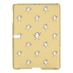 Happy Character Kids Motif Pattern Samsung Galaxy Tab S (10 5 ) Hardshell Case  by dflcprints