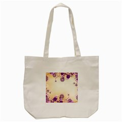 Background Floral Background Tote Bag (cream) by Onesevenart