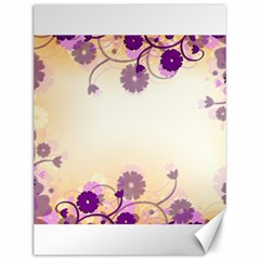 Background Floral Background Canvas 12  X 16   by Onesevenart