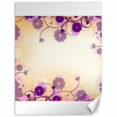 Background Floral Background Canvas 18  X 24   by Onesevenart