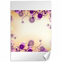 Background Floral Background Canvas 20  X 30   by Onesevenart