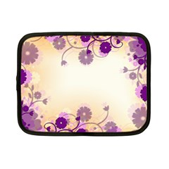 Background Floral Background Netbook Case (small)  by Onesevenart