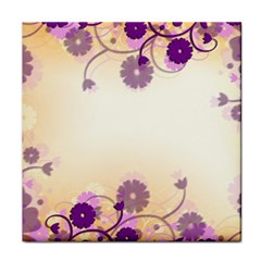 Background Floral Background Face Towel by Onesevenart
