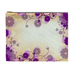 Background Floral Background Cosmetic Bag (xl) by Onesevenart