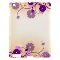 Background Floral Background Apple Ipad 3/4 Hardshell Case by Onesevenart