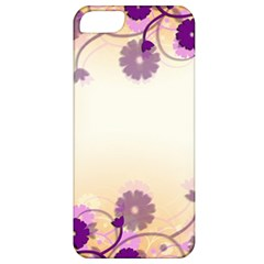 Background Floral Background Apple Iphone 5 Classic Hardshell Case by Onesevenart