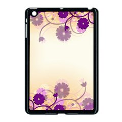 Background Floral Background Apple Ipad Mini Case (black) by Onesevenart