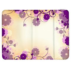 Background Floral Background Samsung Galaxy Tab 7  P1000 Flip Case by Onesevenart