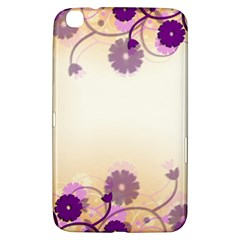Background Floral Background Samsung Galaxy Tab 3 (8 ) T3100 Hardshell Case  by Onesevenart
