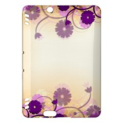 Background Floral Background Kindle Fire Hdx Hardshell Case by Onesevenart