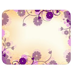 Background Floral Background Double Sided Flano Blanket (medium)  by Onesevenart