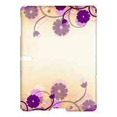 Background Floral Background Samsung Galaxy Tab S (10 5 ) Hardshell Case  by Onesevenart