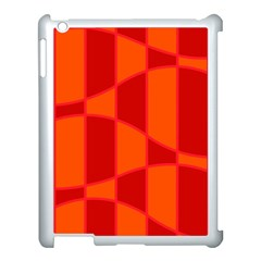 Background Texture Pattern Colorful Apple Ipad 3/4 Case (white) by Onesevenart