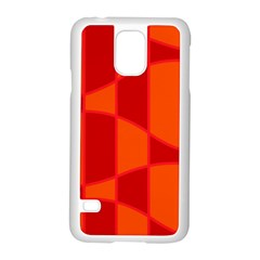 Background Texture Pattern Colorful Samsung Galaxy S5 Case (white) by Onesevenart