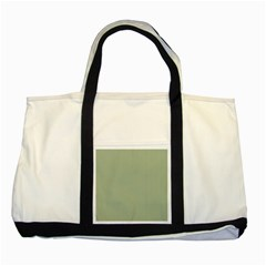 Background Pattern Green Two Tone Tote Bag by Onesevenart