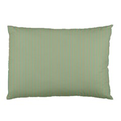 Background Pattern Green Pillow Case (two Sides) by Onesevenart