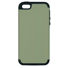 Background Pattern Green Apple Iphone 5 Hardshell Case (pc+silicone) by Onesevenart