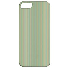 Background Pattern Green Apple Iphone 5 Classic Hardshell Case by Onesevenart