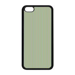 Background Pattern Green Apple Iphone 5c Seamless Case (black) by Onesevenart