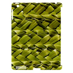 Basket Woven Braid Wicker Apple Ipad 3/4 Hardshell Case (compatible With Smart Cover) by Onesevenart