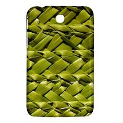 Basket Woven Braid Wicker Samsung Galaxy Tab 3 (7 ) P3200 Hardshell Case  by Onesevenart