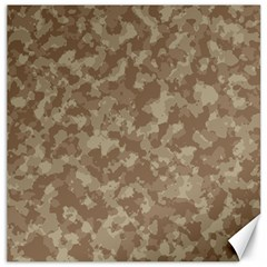 Camouflage Tarn Texture Pattern Canvas 20  X 20   by Onesevenart