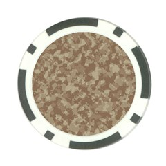 Camouflage Tarn Texture Pattern Poker Chip Card Guard by Onesevenart