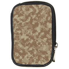 Camouflage Tarn Texture Pattern Compact Camera Cases by Onesevenart