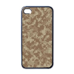 Camouflage Tarn Texture Pattern Apple Iphone 4 Case (black) by Onesevenart