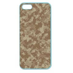 Camouflage Tarn Texture Pattern Apple Seamless Iphone 5 Case (color) by Onesevenart