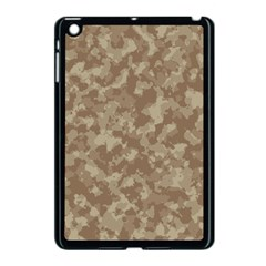 Camouflage Tarn Texture Pattern Apple Ipad Mini Case (black) by Onesevenart