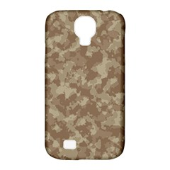 Camouflage Tarn Texture Pattern Samsung Galaxy S4 Classic Hardshell Case (pc+silicone) by Onesevenart