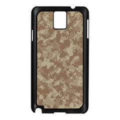 Camouflage Tarn Texture Pattern Samsung Galaxy Note 3 N9005 Case (black) by Onesevenart
