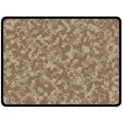 Camouflage Tarn Texture Pattern Double Sided Fleece Blanket (large)  by Onesevenart
