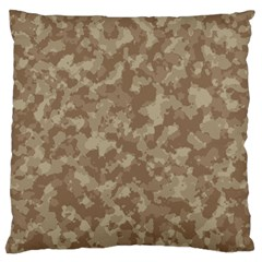 Camouflage Tarn Texture Pattern Large Flano Cushion Case (two Sides) by Onesevenart