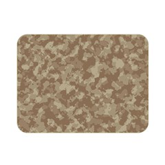 Camouflage Tarn Texture Pattern Double Sided Flano Blanket (mini)  by Onesevenart