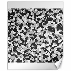 Camouflage Tarn Texture Pattern Canvas 11  X 14   by Onesevenart