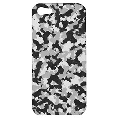 Camouflage Tarn Texture Pattern Apple Iphone 5 Hardshell Case by Onesevenart