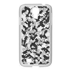 Camouflage Tarn Texture Pattern Samsung Galaxy S4 I9500/ I9505 Case (white) by Onesevenart