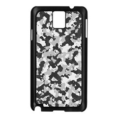 Camouflage Tarn Texture Pattern Samsung Galaxy Note 3 N9005 Case (black) by Onesevenart
