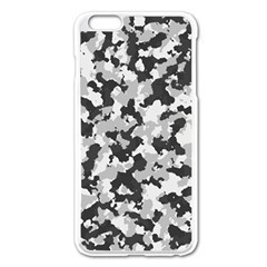 Camouflage Tarn Texture Pattern Apple Iphone 6 Plus/6s Plus Enamel White Case by Onesevenart