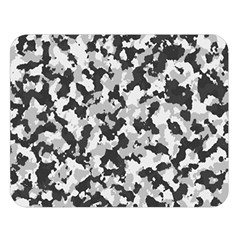 Camouflage Tarn Texture Pattern Double Sided Flano Blanket (large)  by Onesevenart