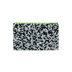 Camouflage Tarn Texture Pattern Cosmetic Bag (xs) by Onesevenart